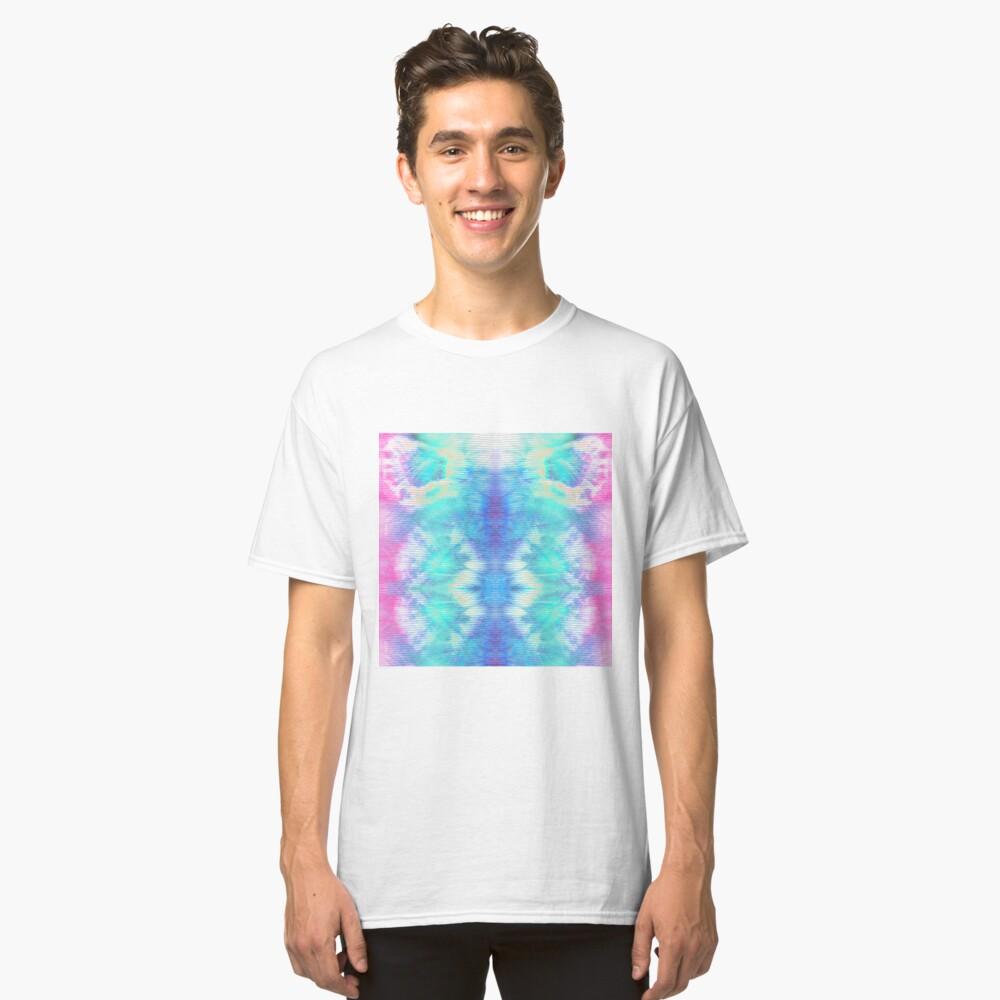Pastel Rainbow Oxford Shibori Classic T-Shirt