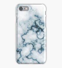 Dark Blue Marble iPhone Case/Skin