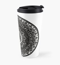 Henna Design Travel Mug