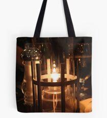Candlelit Dinner Tote Bag