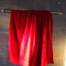 My red towel by Antionette