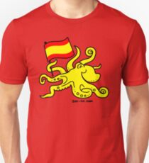 Paul the Octopus is Spanish! Slim Fit T-Shirt
