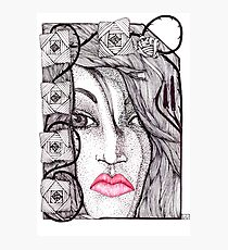 Paper Doll Unraveled Photographic Print