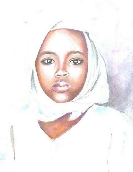 Nigerian girl by jovica