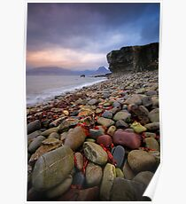 Elgol and the Black Cullins , Skye Poster