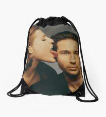 Gilovney photoshoot Drawstring Bag