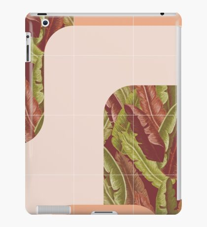 Mid-Century Tropical Style #redbubble #tropical iPad Case/Skin