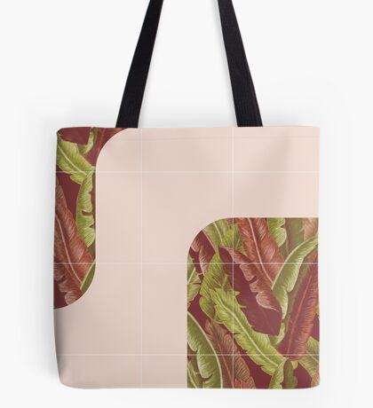 Mid-Century Tropical Style #redbubble #tropical Tote Bag