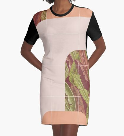 Mid-Century Tropical Style #redbubble #tropical Graphic T-Shirt Dress