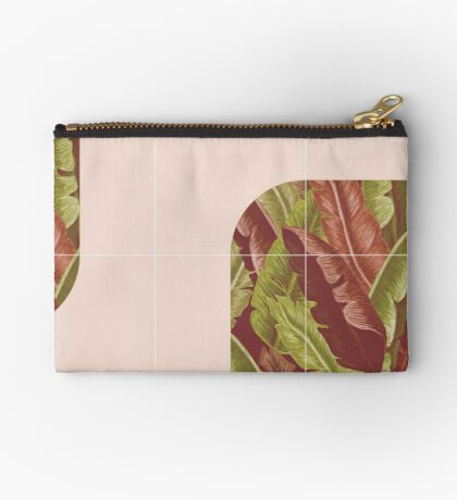 Mid-Century Tropical Style #redbubble #tropical Zipper Pouch