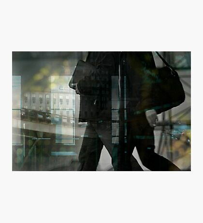 Passers-by Photographic Print