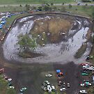 Aerial View of Mud Sprint Track by AlexKokas