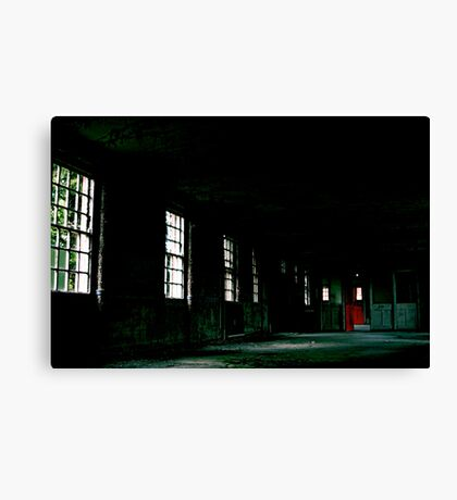 West Park - Red Door Canvas Print