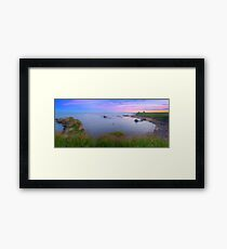 Newark Castle Sunset - St Monans Fife Framed Print