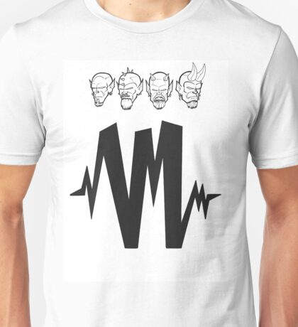 4 Headz Logo Unisex T-Shirt