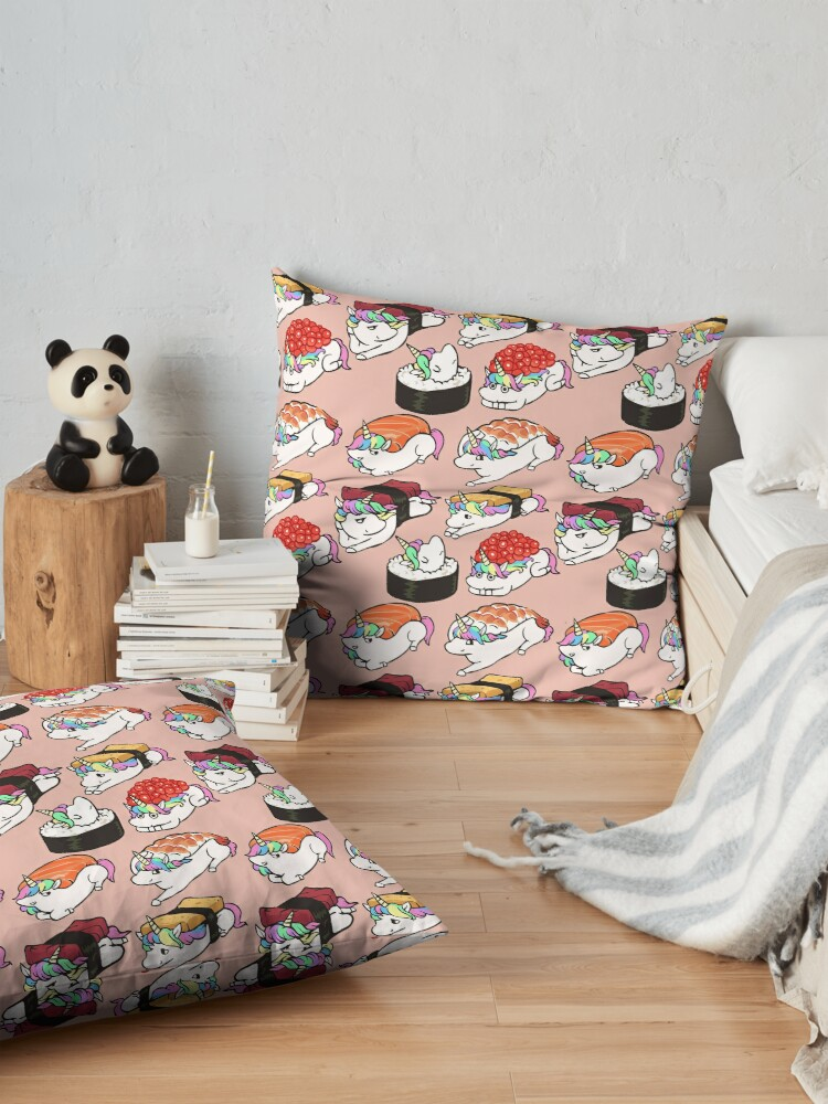 Alternate view of  Sushi Unicorn Floor Pillow