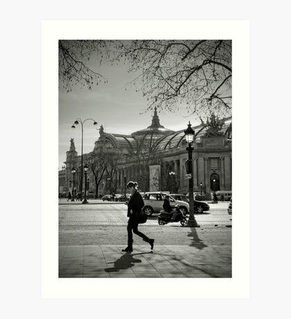 Champs Elysées Art Print
