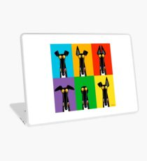 Greyhound Semaphore Laptop Skin