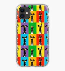 Greyhound Semaphore iPhone Case