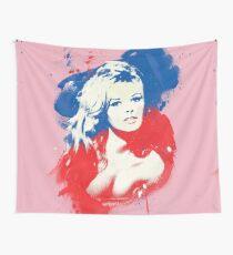 B. B. - Pop Art Fashion Icons Wall Tapestry