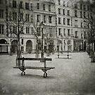 Place Dauphine by laurentlesax