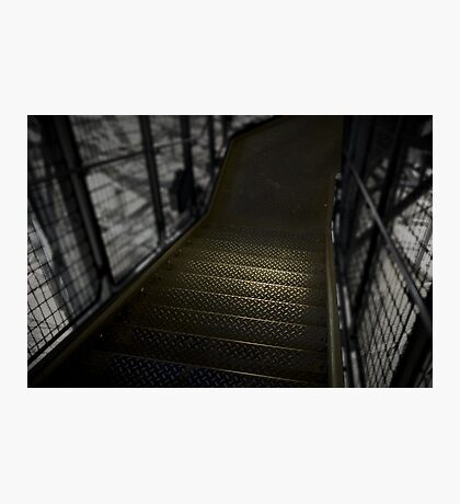 Eiffel tower stairs Photographic Print