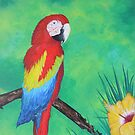 Parrot Bay 1 by LindaZArtist