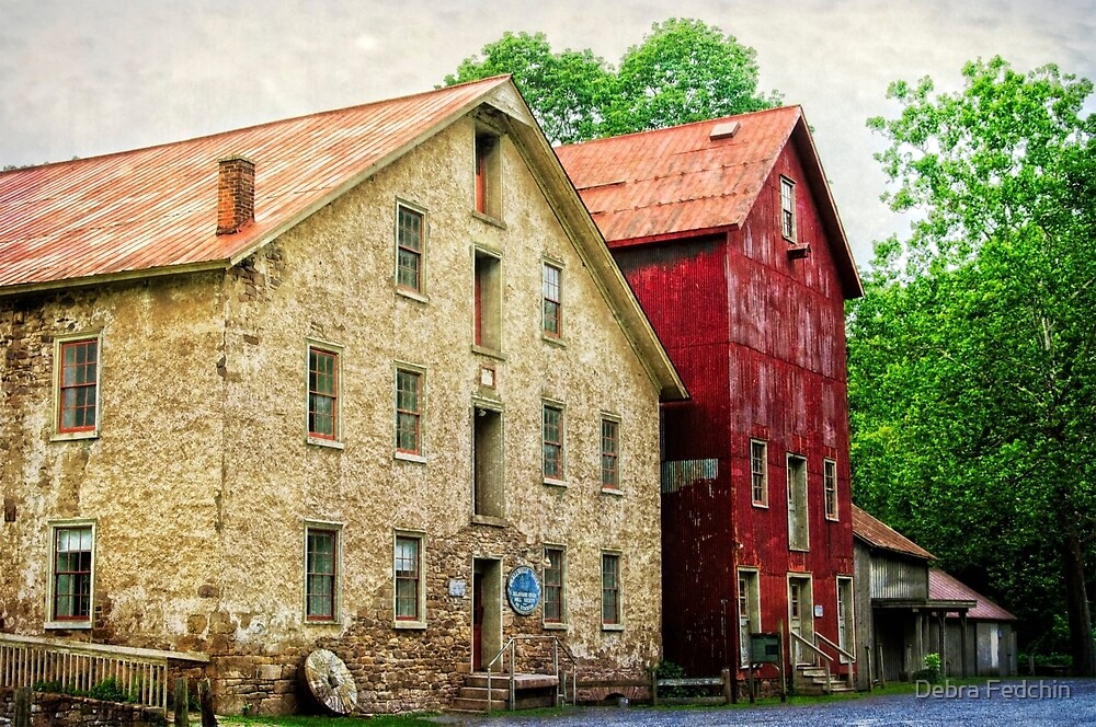 The Prallsville Mill # 4 by Debra Fedchin