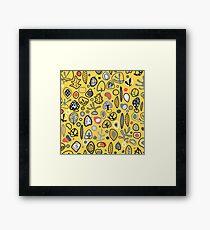 Fab fifties abstract design  Framed Print