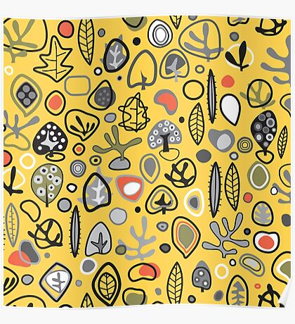 Fab fifties abstract design  Poster