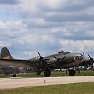 Memphis Belle - B-17F by jules572