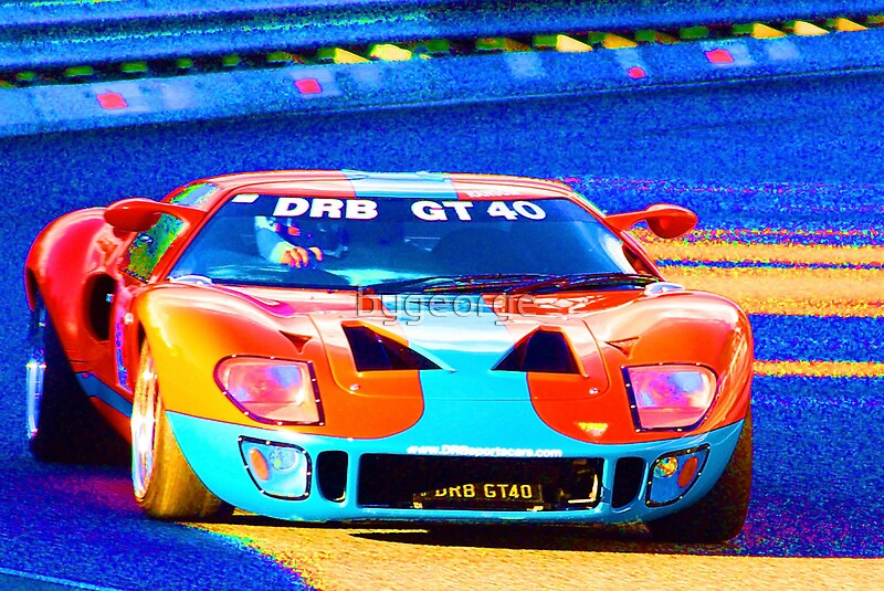 DRB GT Greeting Cards By Bygeorge Redbubble - Drb sports cars queensland