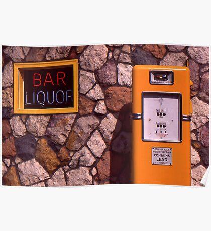 Bar in North Michigan Poster