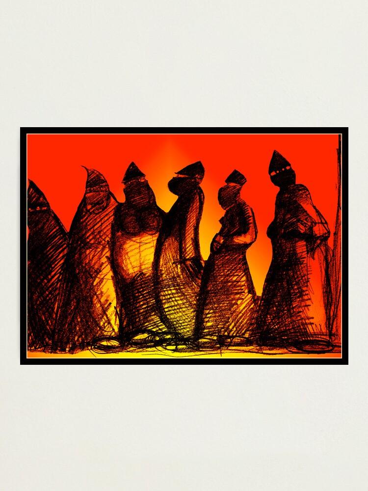 Alternate view of Burkadoodledandies Photographic Print