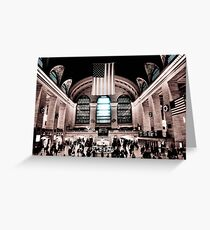 Grand Central Greeting Card