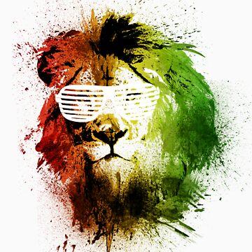 Rasta Lion Vision by TEALfoxy