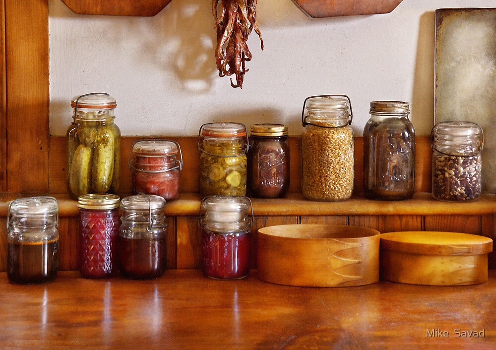Chef - I love preserving things by Michael Savad