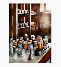 Chef - The Winter Pantry  Photographic Print