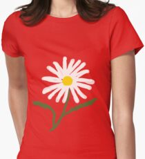 Daisy Doodle Women's Fitted T-Shirt