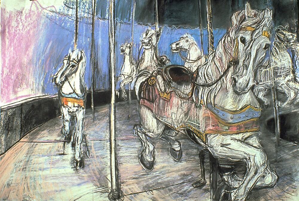 Merry-go-round #1 by WoolleyWorld