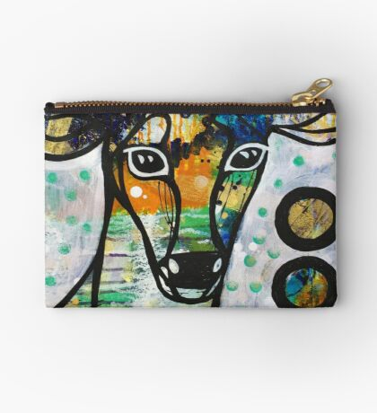 Stepping into Presence: Inner Power Painting Studio Pouch