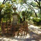 Grace Church Cemetary - Louisiana by Rhonda Strickland