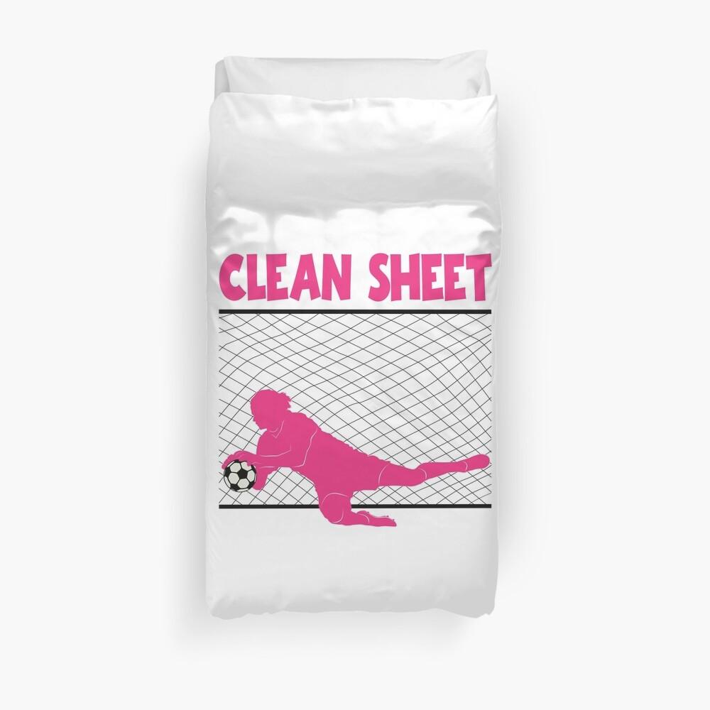 CLEAN SHEET Bettbezug
