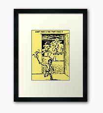 What Makes a Man Start Fires? - Minutemen Framed Print
