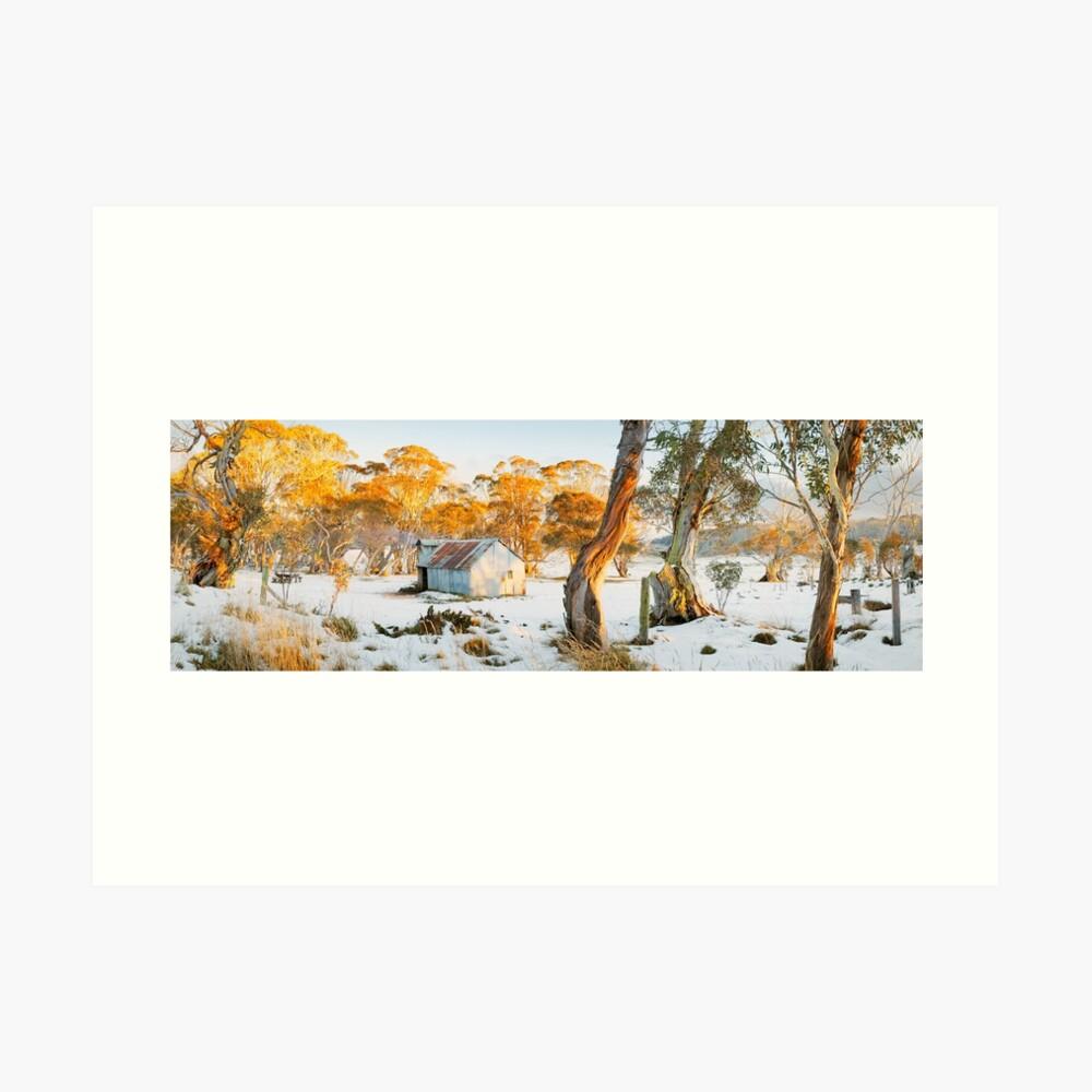 Howitt Hut, Alpine National Park, Victoria, Australia Art Print