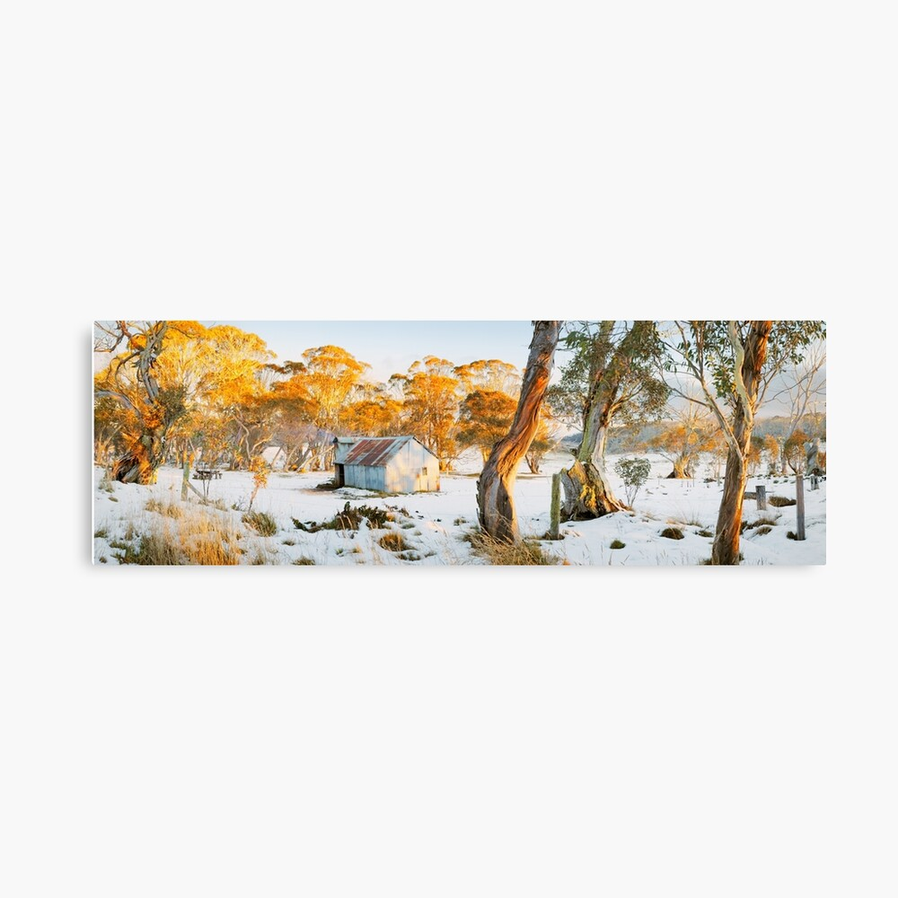 Howitt Hut, Alpine National Park, Victoria, Australia Canvas Print