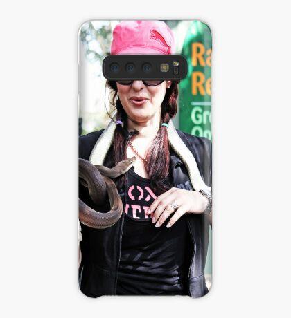 Snake Charmer Hülle & Klebefolie für Samsung Galaxy