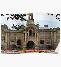 Cartright Hall ~ Lister Park ~ Poster