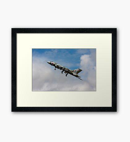 Vulcan skybound Framed Print