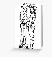 Paranoid Time - Minutemen Greeting Card